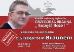 Spotkanie z G. Braunem w Piotrkowie