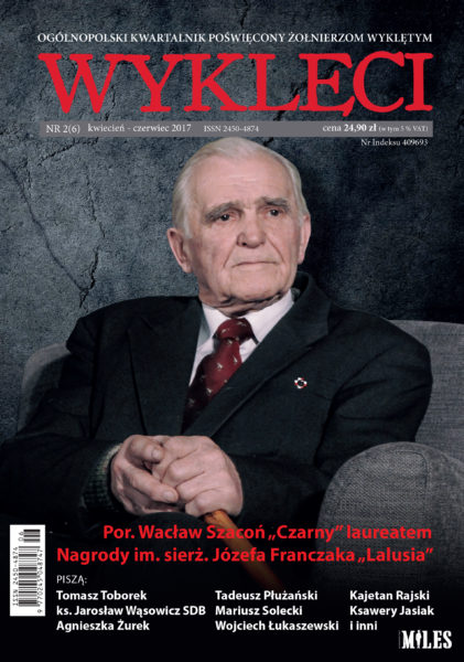 """Kwartalnik """"Wyklęci"""" poświęcony Konspiracyjnemu Wojsku Polskiemu"""