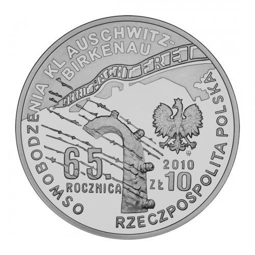Moneta Awers Pilecki