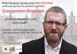 G. Braun w Łodzi, 12.07.2018 r.