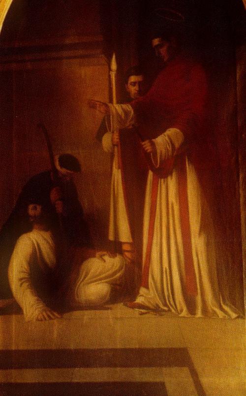 obraz św. Walentego z koscioła p.w. św. Jacka i Doroty, namalowany przez Bronisława Abramowicza.jpg