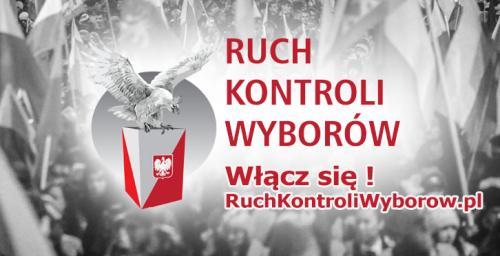 Ruch Kontroli Wyborów - duże logo