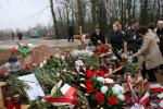 Tragedia Smoleńska - widok po 9 dniach